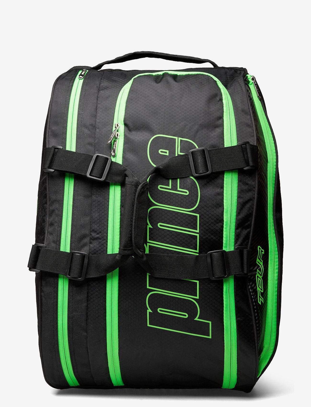 Prince - PRINCE Padel Prem Tour Racket Bag - ketsjersporttasker - black/orange - 0