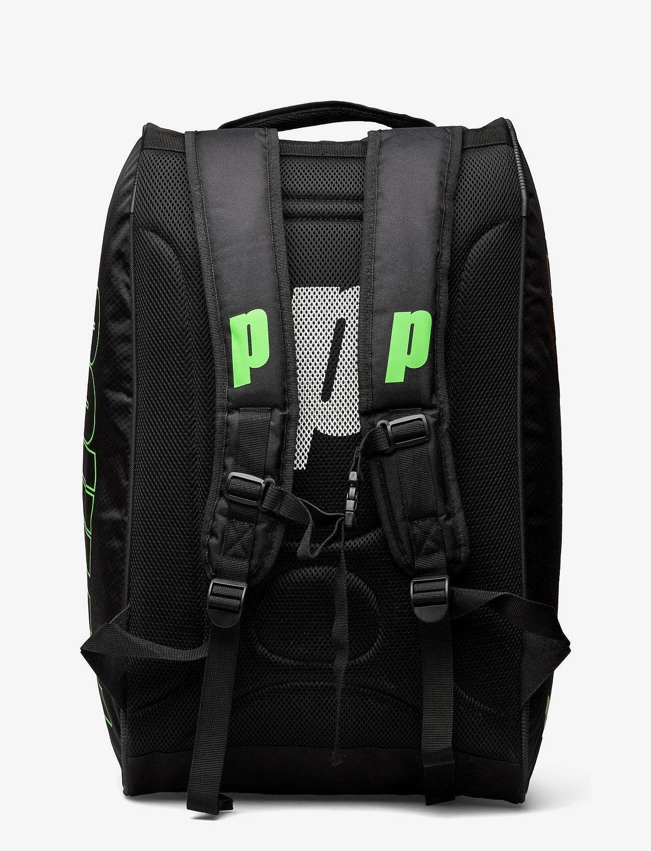 Prince - PRINCE Padel Prem Tour Racket Bag - ketsjersporttasker - black/orange - 1