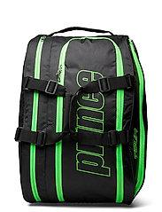 PRINCE Padel Prem Tour Racket Bag - BLACK/ORANGE