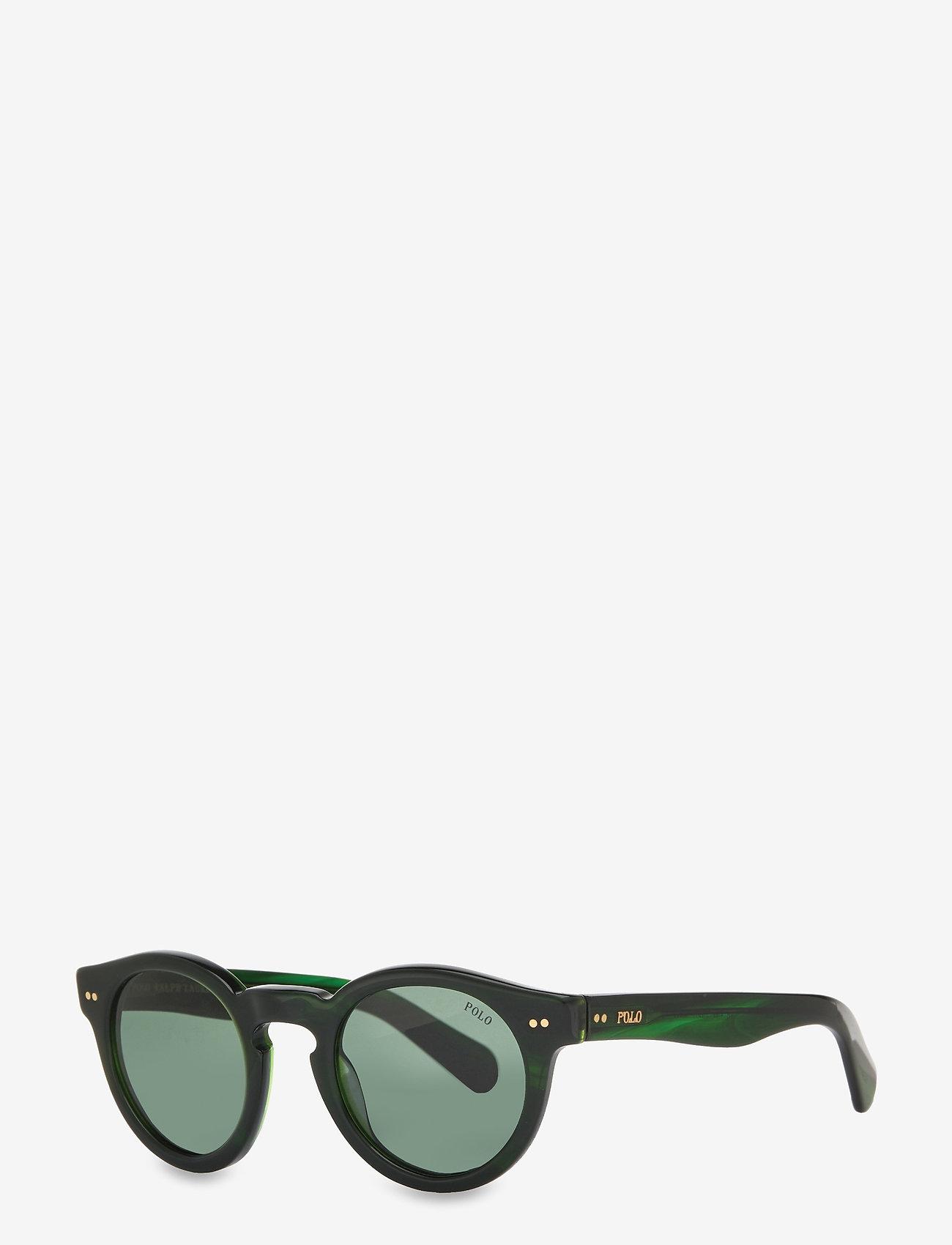 Polo Ralph Lauren - Sunglasses - rund ramme - green - 1