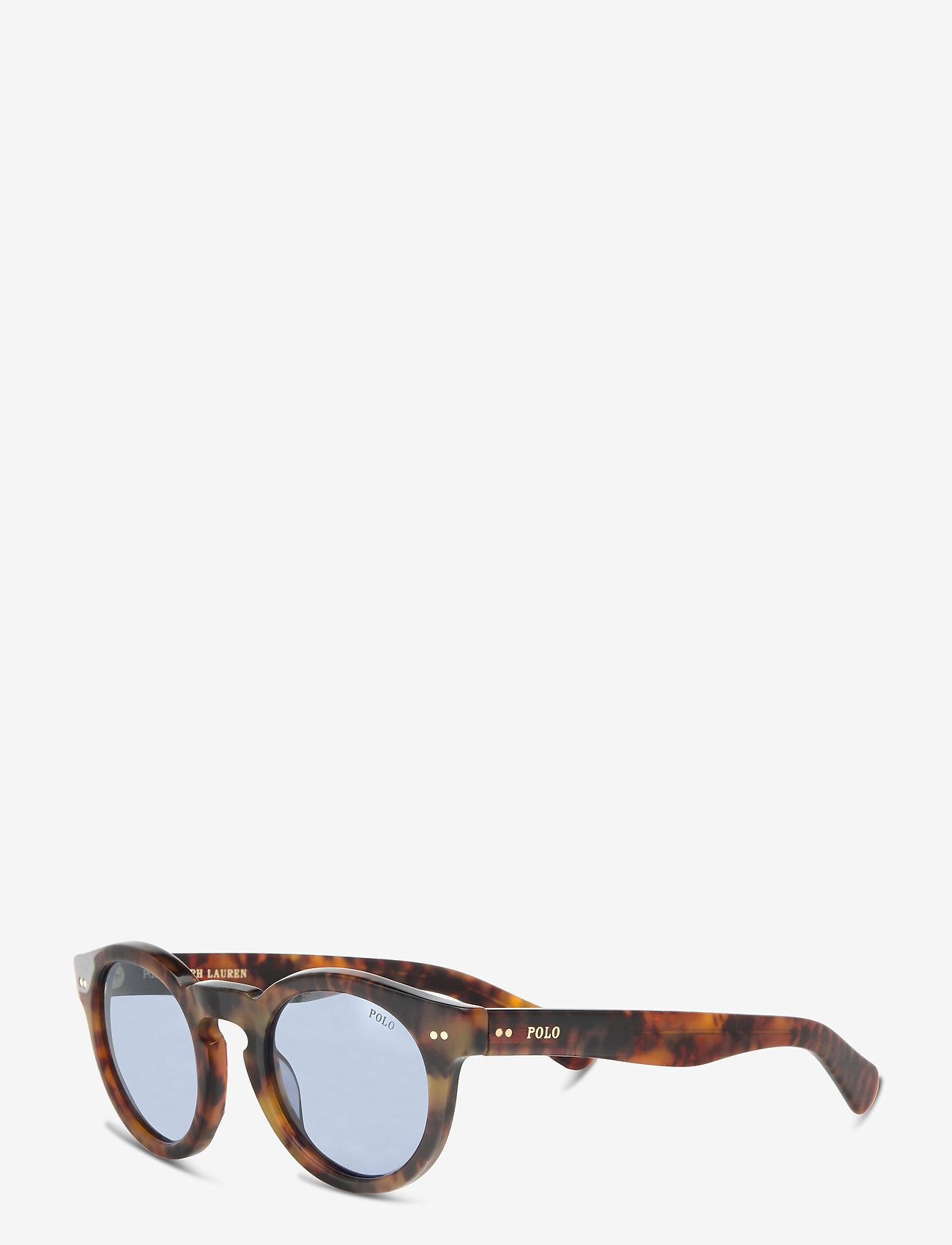 Polo Ralph Lauren - Sunglasses - round frame - mirror blue - 1