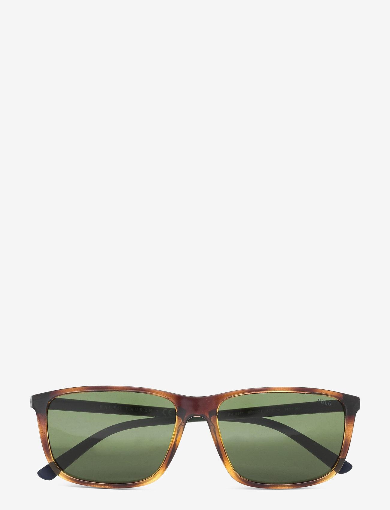 Polo Ralph Lauren - Sunglasses - d-shaped - bottle green - 0