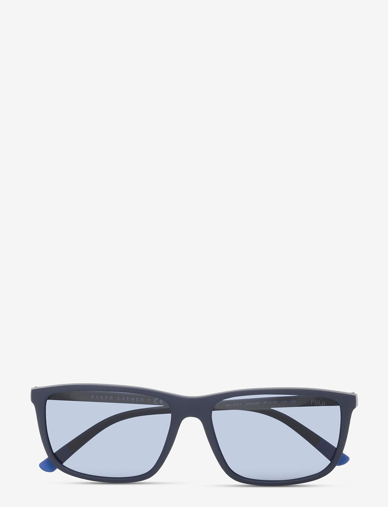 Polo Ralph Lauren - Sunglasses - d-shaped - dark blue - 0
