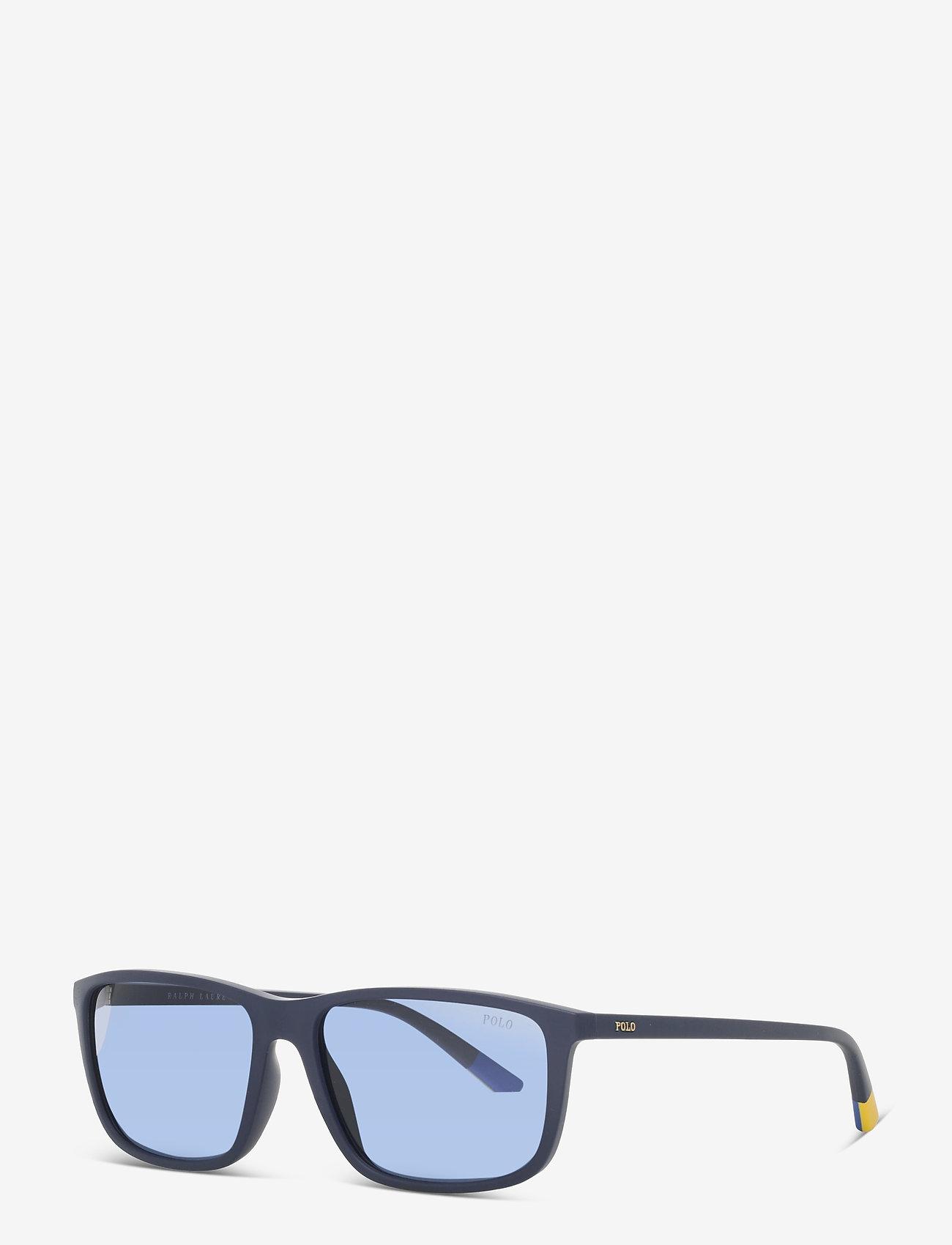 Polo Ralph Lauren - Sunglasses - d-shaped - dark blue - 1