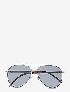 Sunglasses - pilot - grey/blue