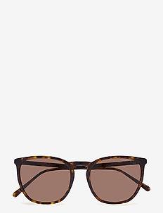 0PH4141 - okulary przeciwsłoneczne w kształcie litery d - dark havana