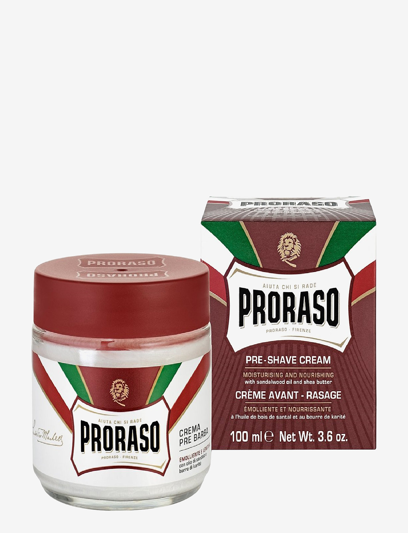 Proraso - Proraso Pre-shave Cream - parranajo - no colour