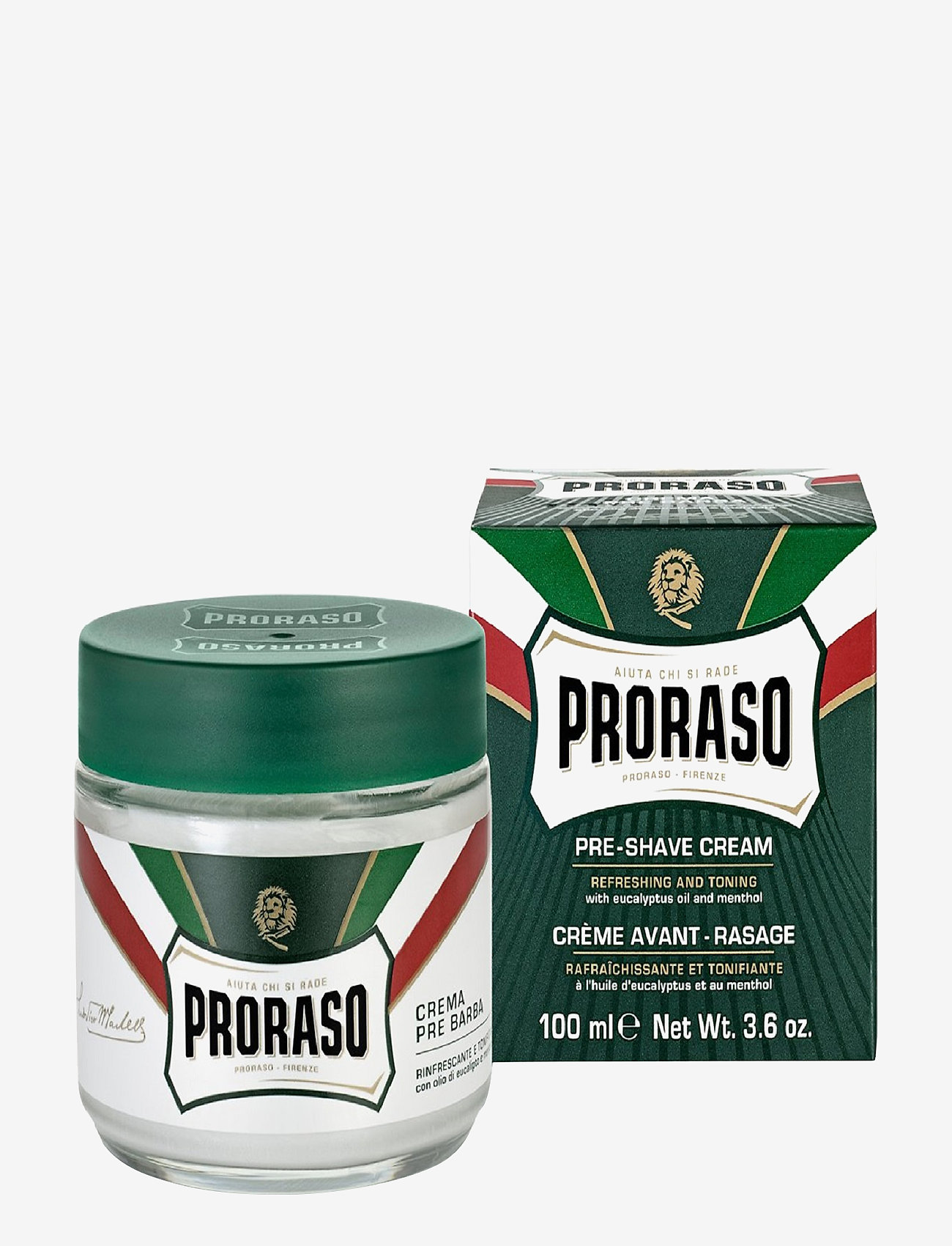 Proraso - Proraso Pre-shave Cream - parranajo - no colour