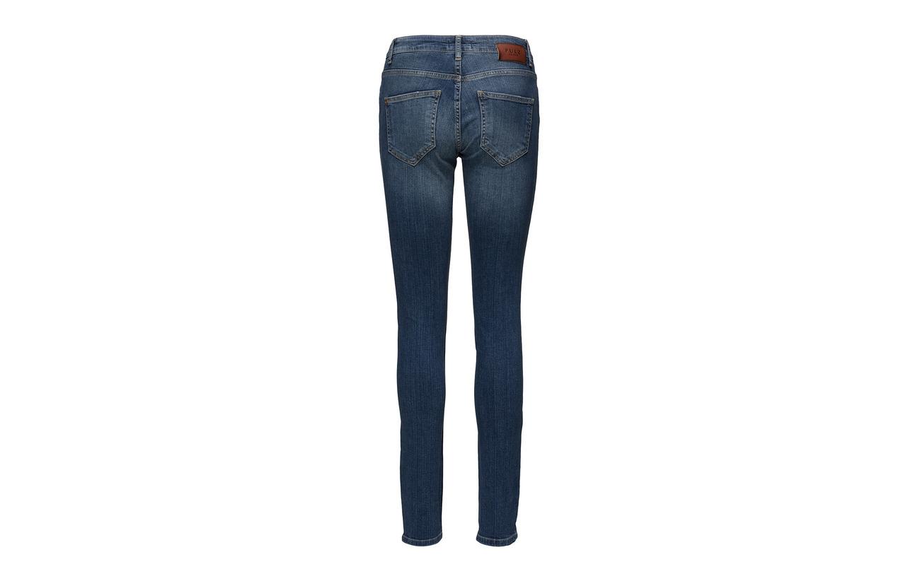 Elastane Jeans Highwaist Skinny Coton 98 2 Mia Blue Pulz Denim Medium RqvPOwgqx