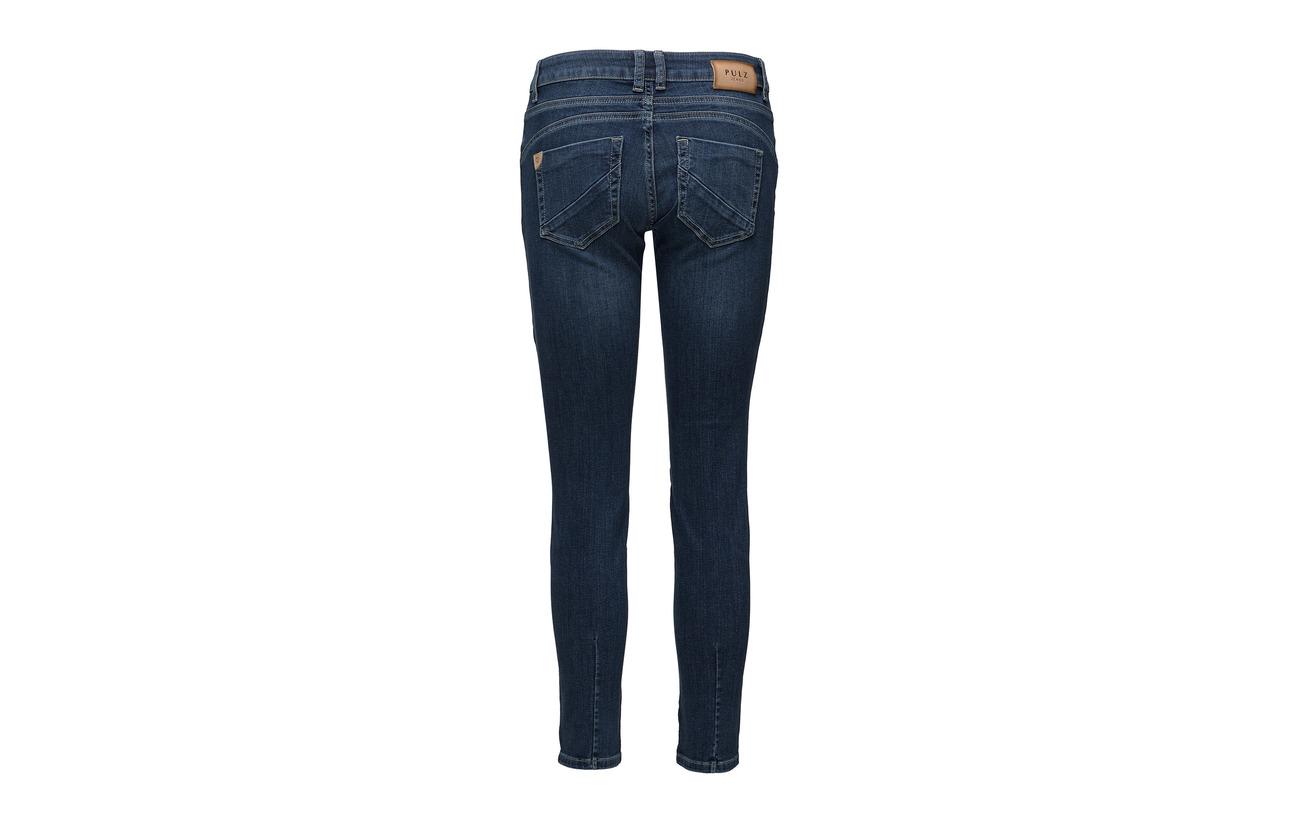 Pulz 98 Jeans Elastane Medium Midtwaist Coton Blue Rosita Denim 2 Ankle PPxrgqA