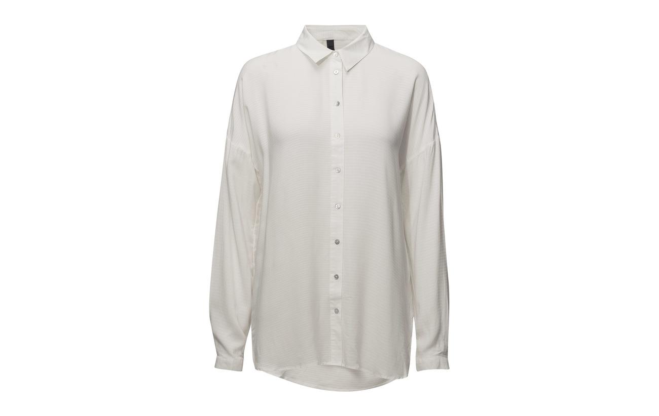 Pulz Shirt L Viscose Jeans 100 Cream Soft Kenya s UnpZzq