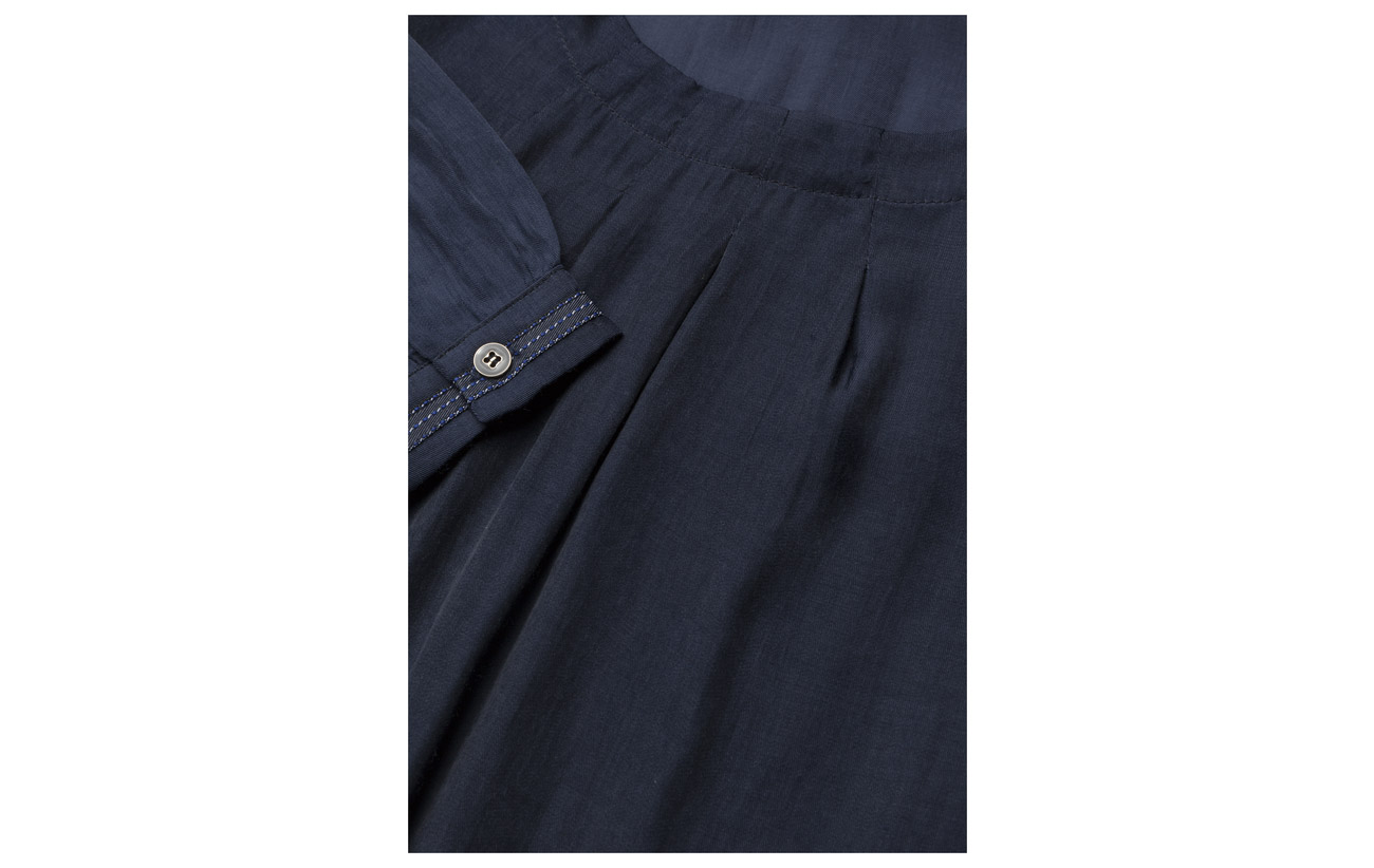 L Polyester 50 Kissi Jeans Viscose Ultra s Marine Blouse Pulz P0E8wqq