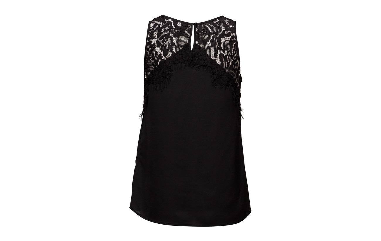 Polyester 100 Tan Blouse Sleeveless Pulz Irena Jeans qwUYO0O