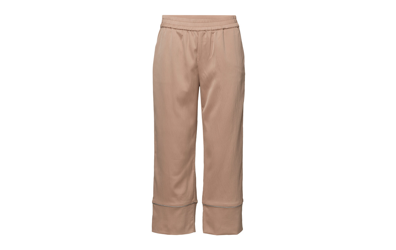 Gloria Ankle Polyester Pant Length Pulz 100 Tan Jeans Tq46O4xz