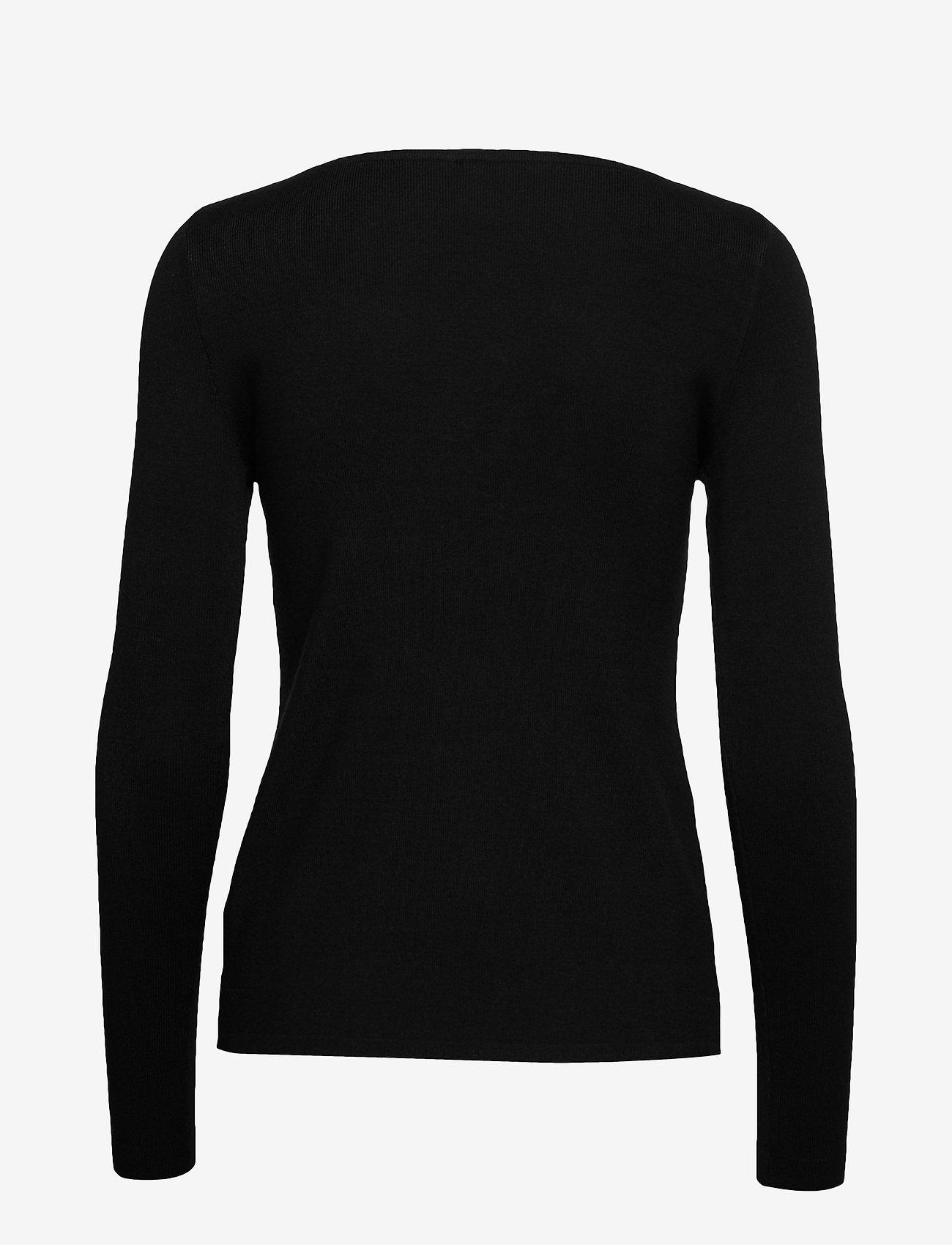 Pulz Jeans - PZSARA Boatneck Pullover - trøjer - black - 1