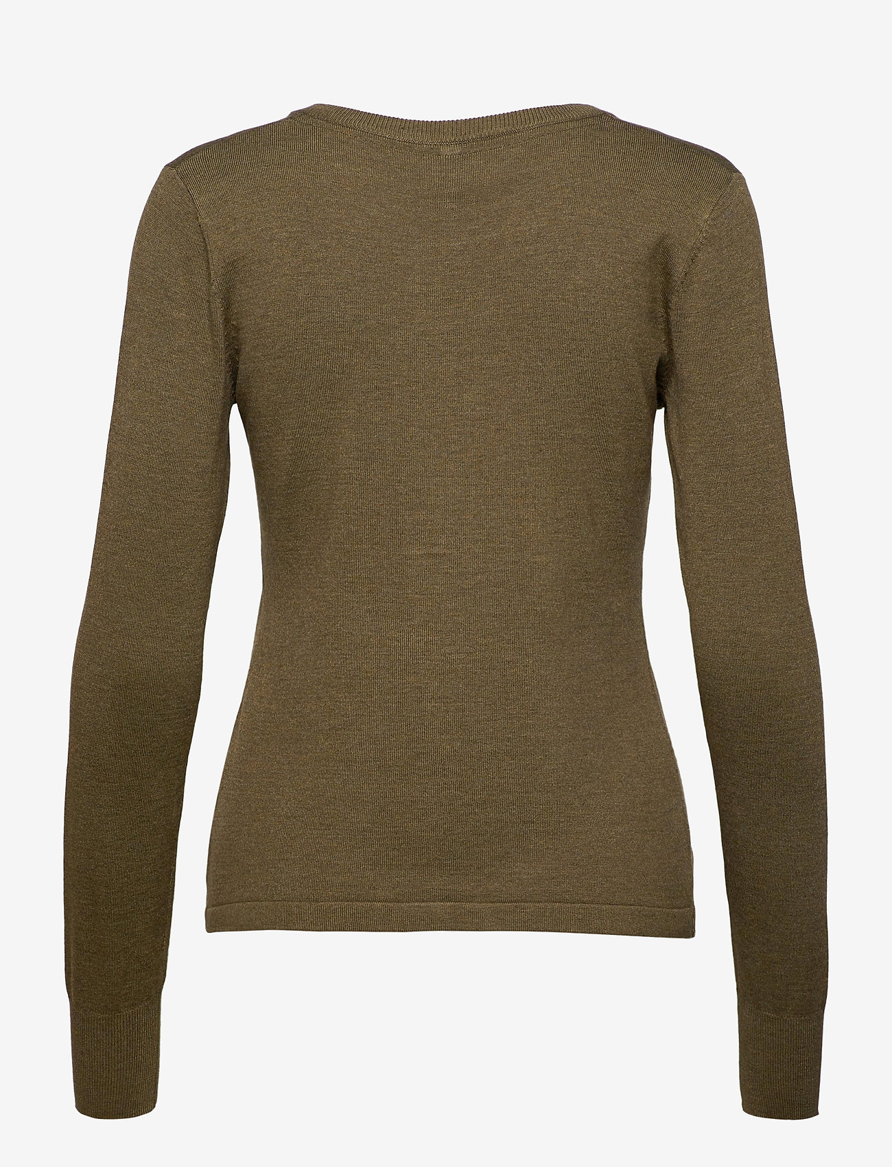 Pulz Jeans - PZSARA L/S Cardigan - koftor - stone gray melange - 1