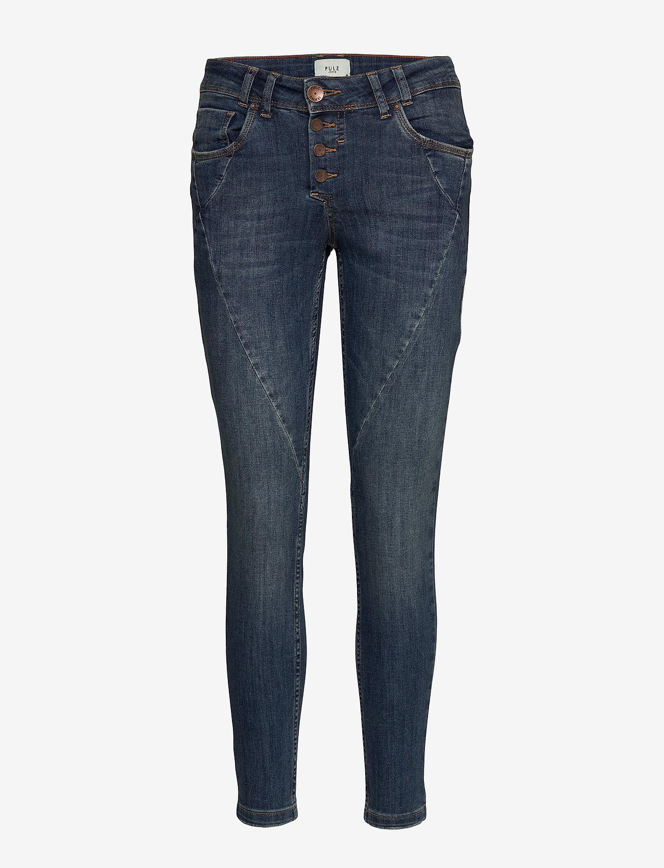 Pulz Jeans - PZANNA Jeans Skinny Leg - skinny jeans - medium blue denim - 0