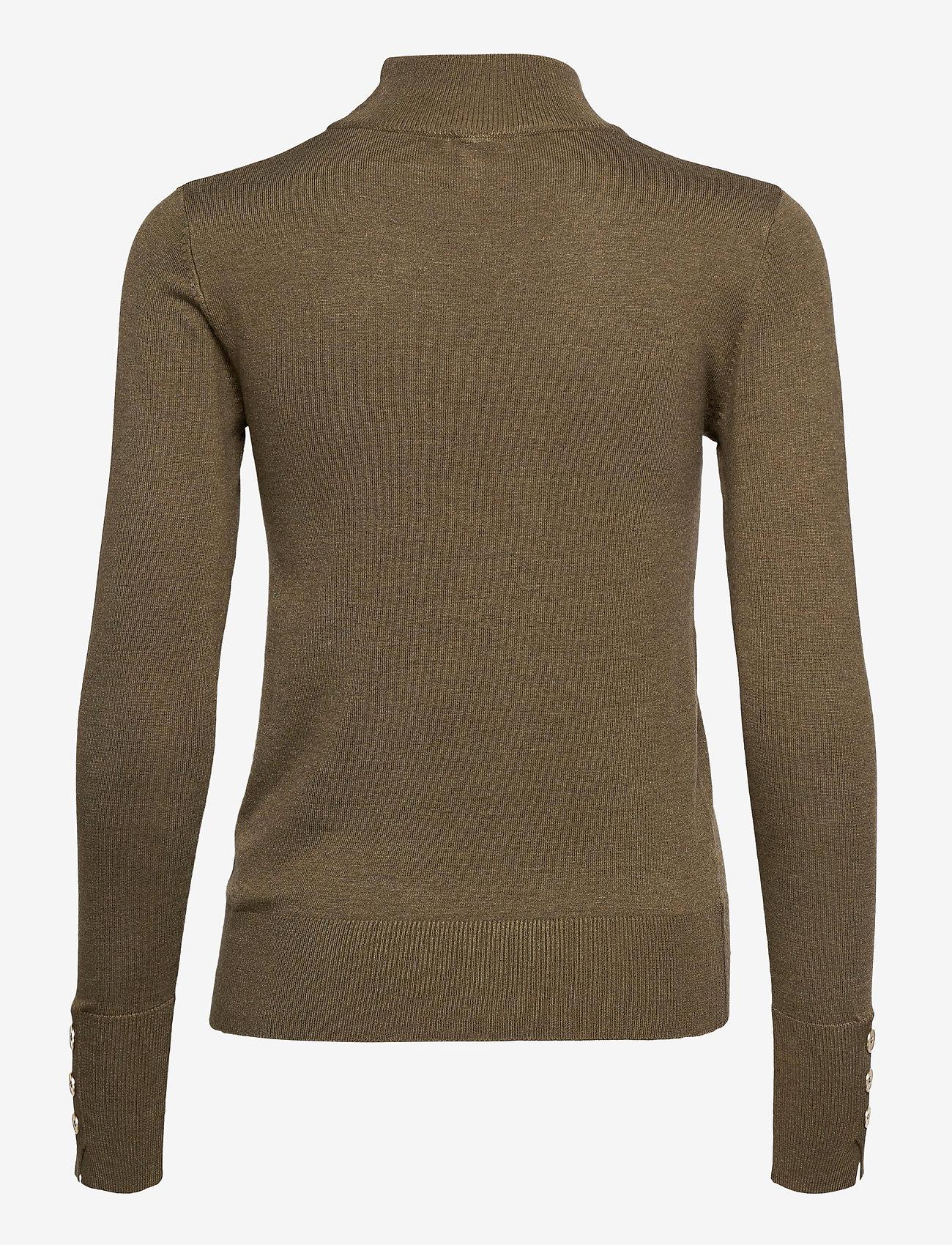Pulz Jeans - PZSARA Pullover - turtlenecks - stone gray melange - 1