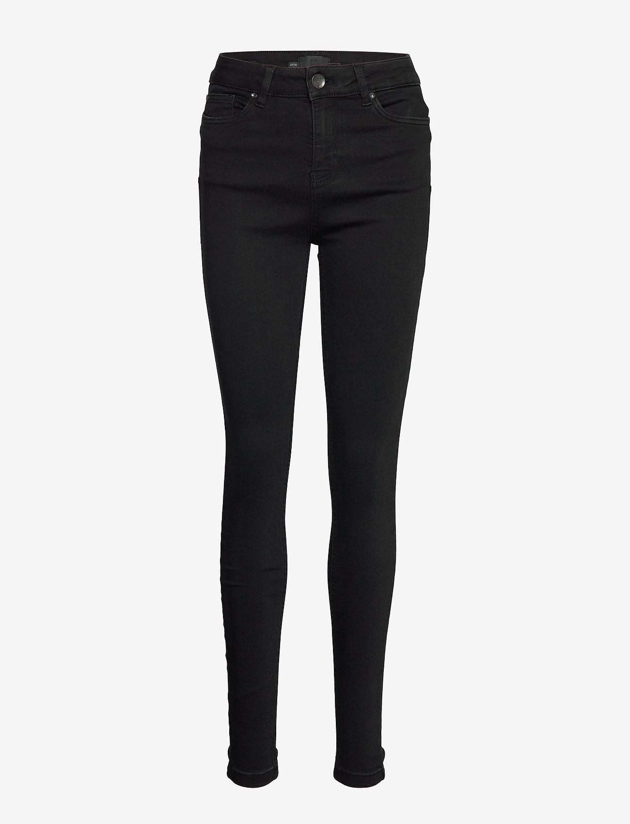 Pulz Jeans - PZLIVA Jeans - skinny jeans - black denim - 0