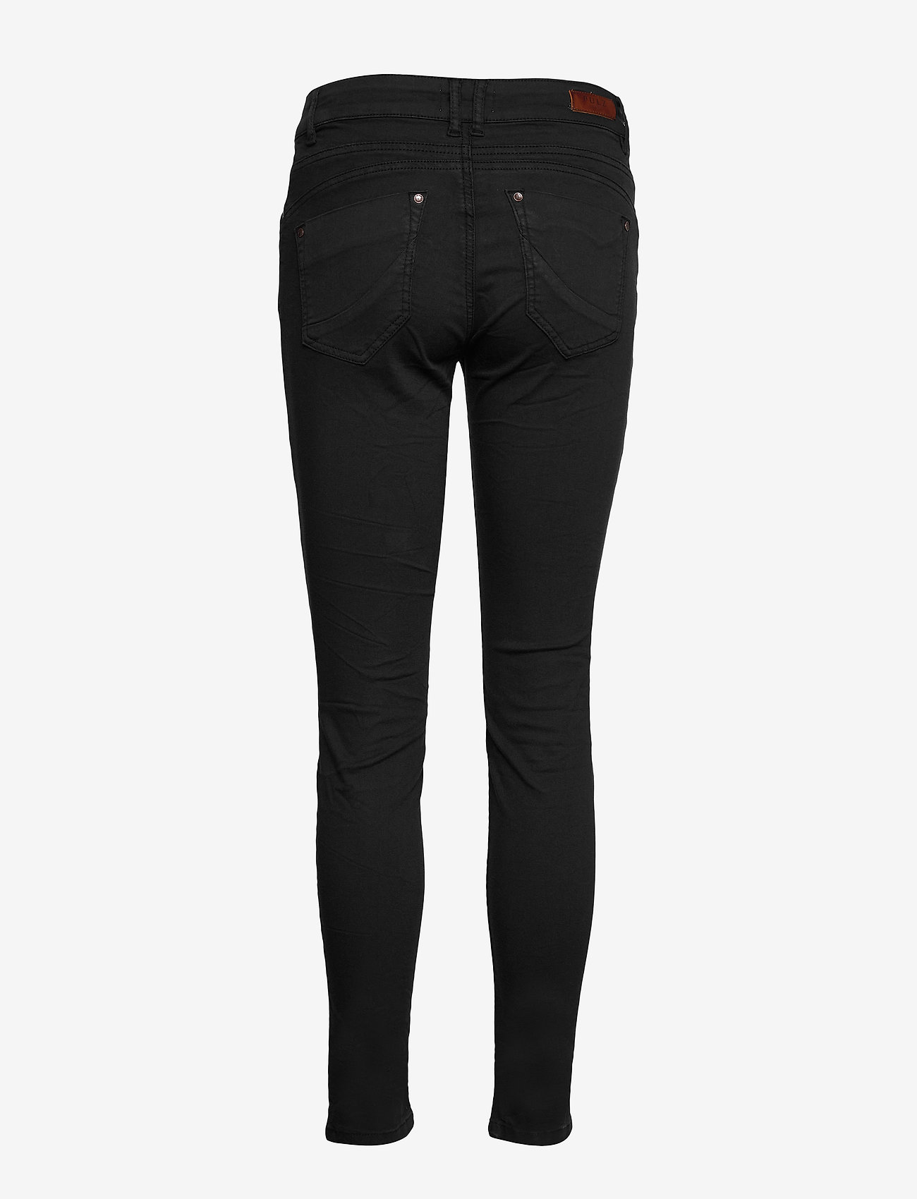 Pulz Jeans - PZROSITA PANT - skinny jeans - black beauty - 1