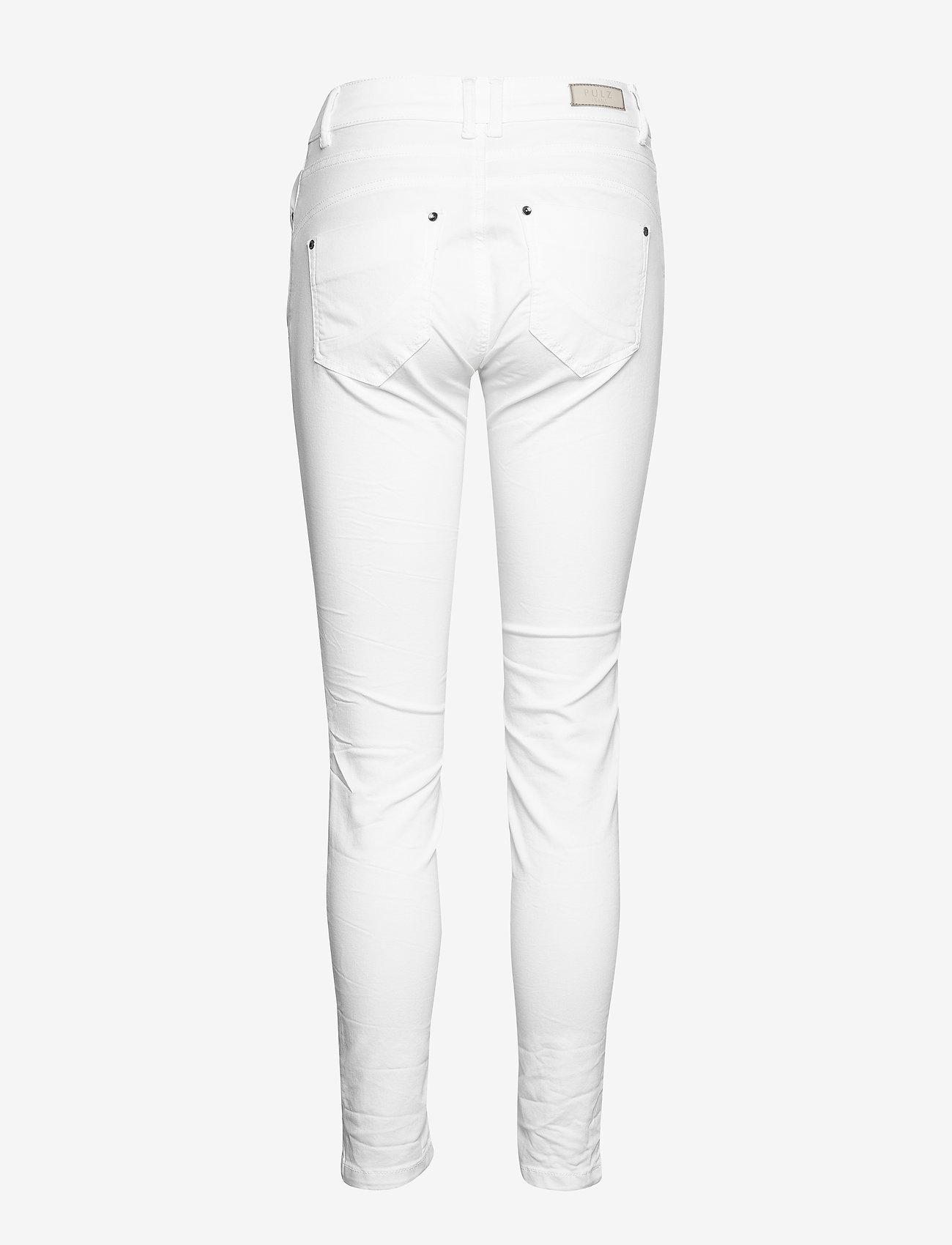 Pulz Jeans - PZROSITA PANT - skinny jeans - bright white - 1
