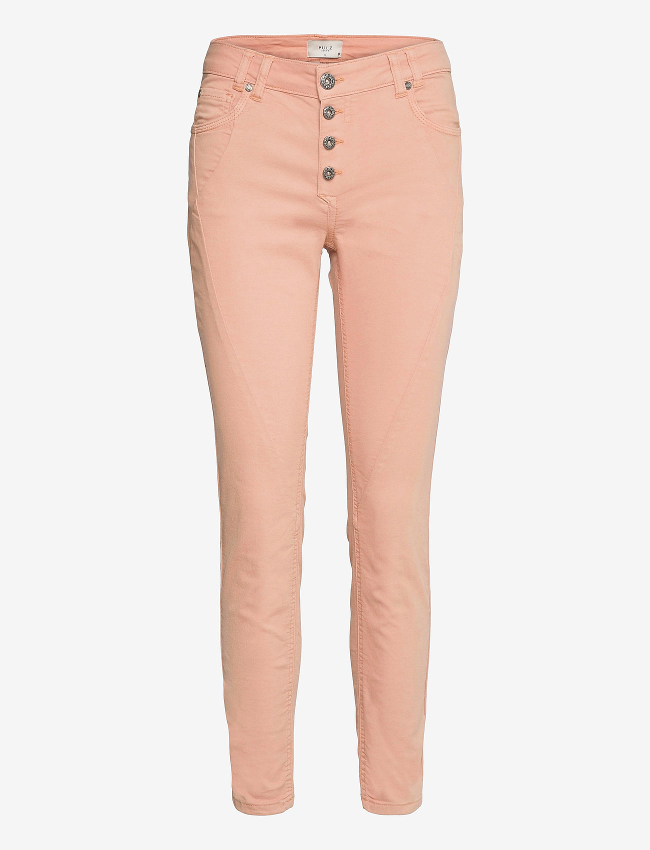 Pulz Jeans - PZROSITA PANT - skinny jeans - mahogany rose - 0
