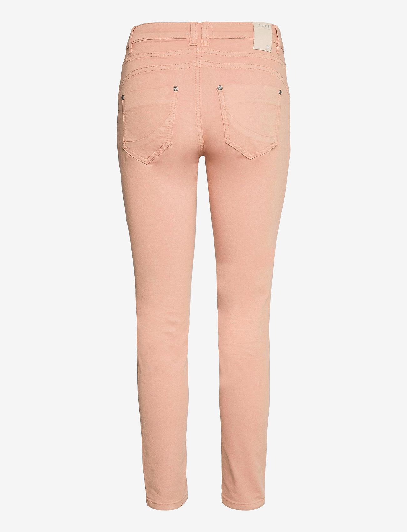 Pulz Jeans - PZROSITA PANT - skinny jeans - mahogany rose - 1