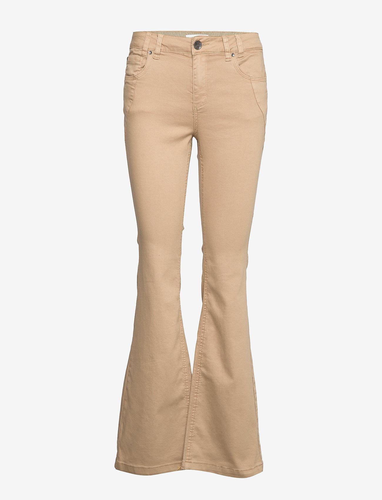 Pulz Jeans - PZRITA Pant - schlaghosen - tannin - 0