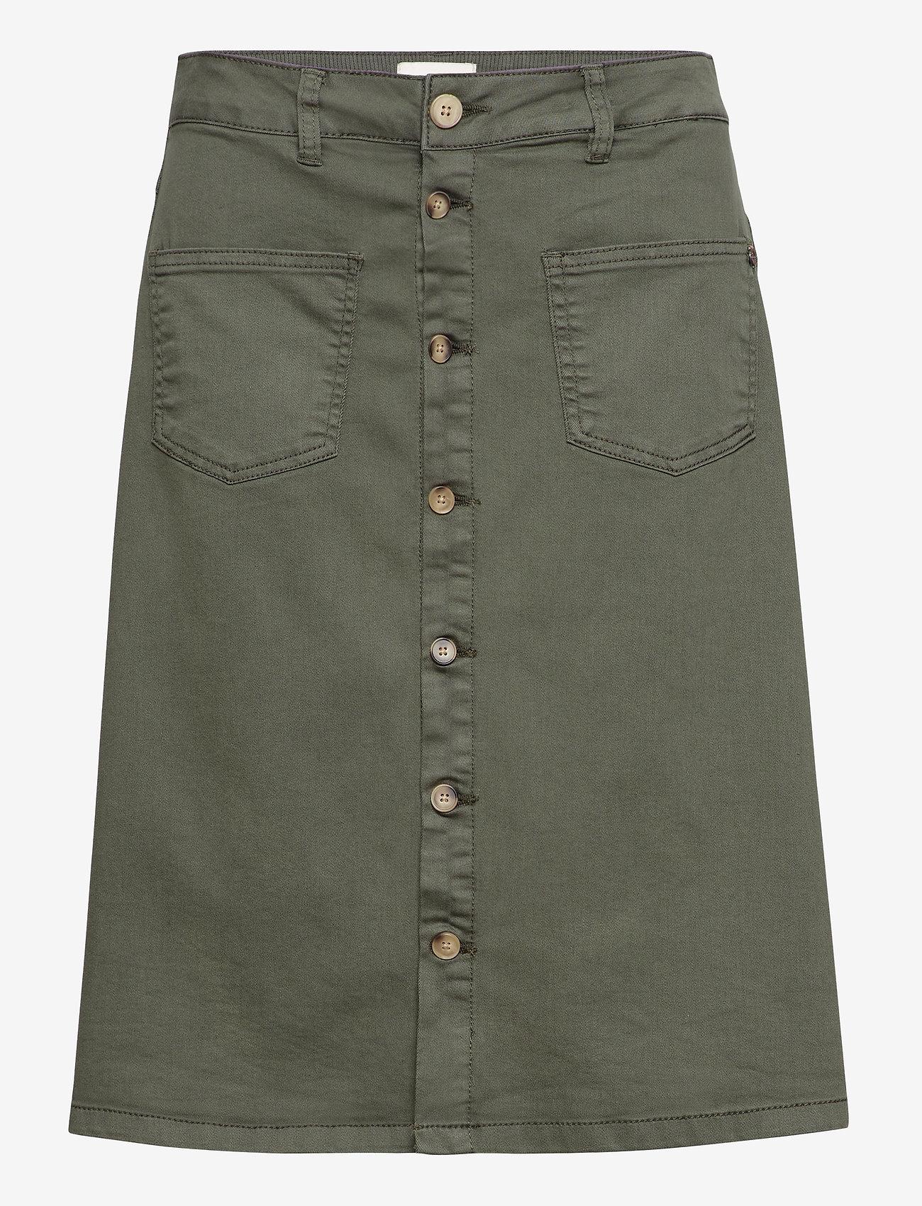 Pulz Jeans - PZDITTE Skirt - denimnederdele - beetle - 0