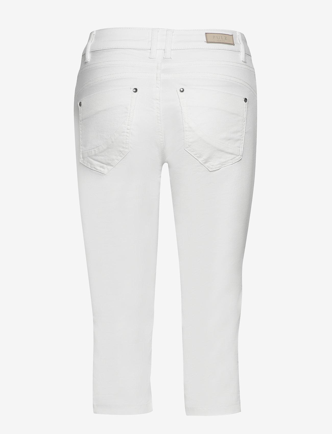 Pulz Jeans - PZROSITA Pants - capri bukser - bright white - 1