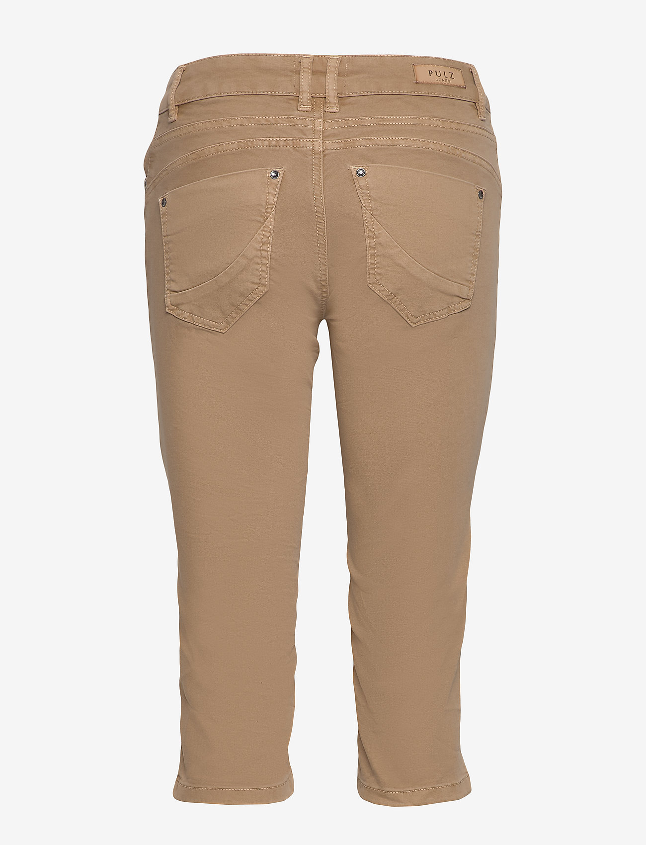 Pulz Jeans - PZROSITA Pants - capri bukser - tannin - 1