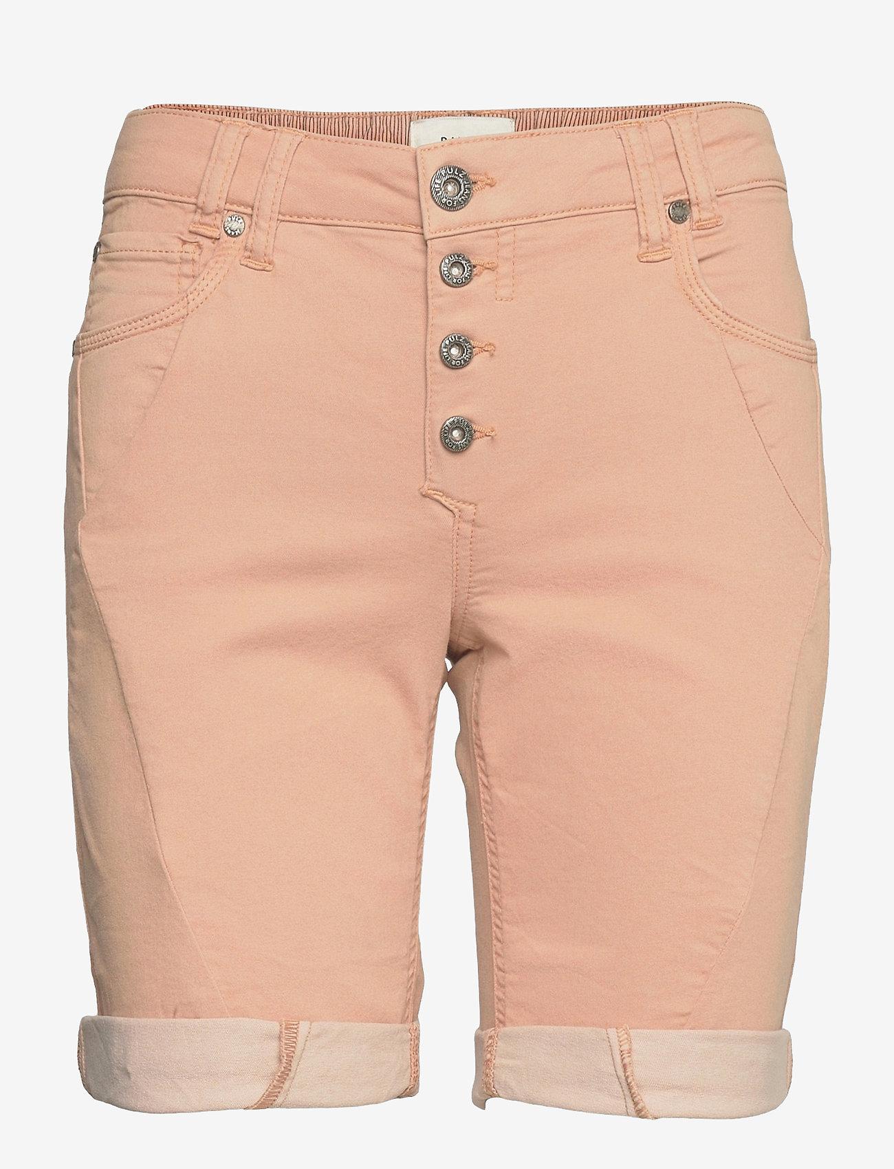 Pulz Jeans - PZROSITA Shorts - denimshorts - mahogany rose - 0
