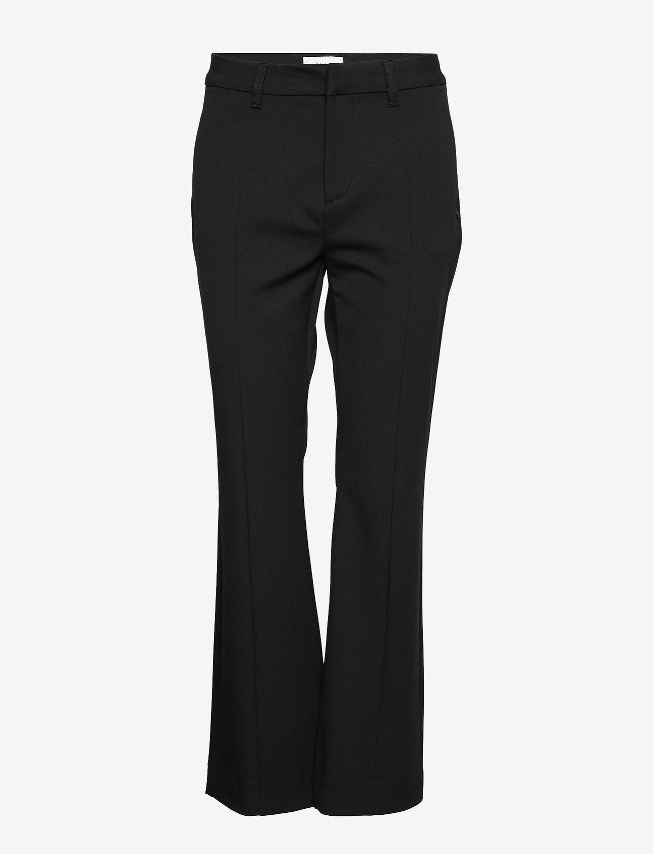 Pulz Jeans - PZCATTY Pant - bukser - black beauty - 0