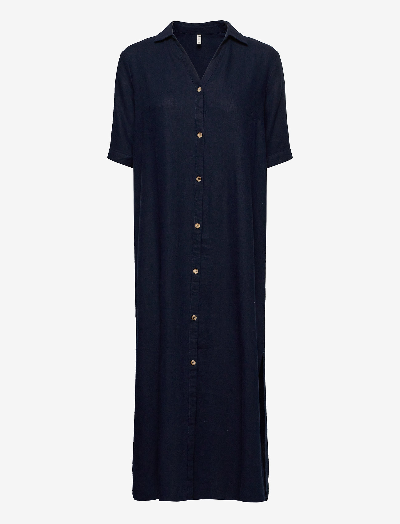Pulz Jeans - PZBIANCA Shirt - midi kjoler - dark sapphire - 0