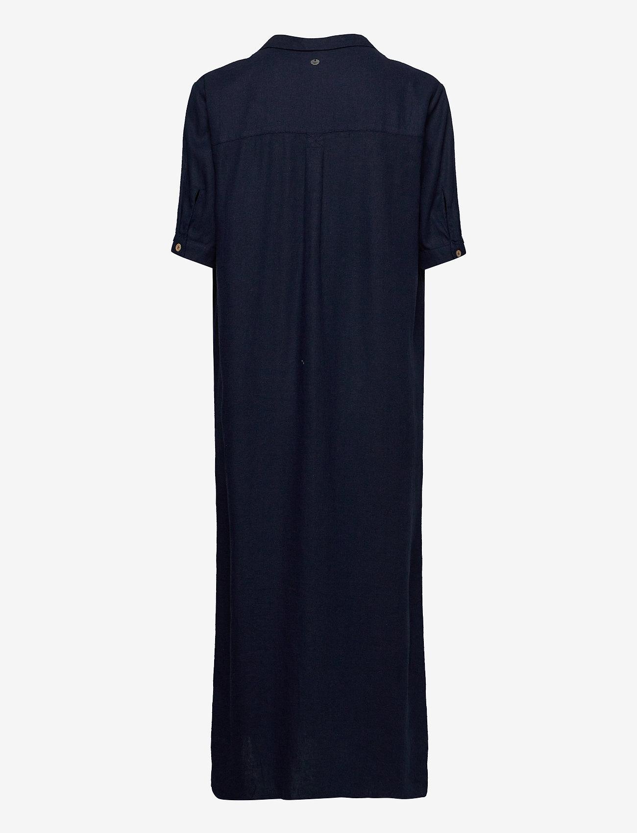 Pulz Jeans - PZBIANCA Shirt - midi kjoler - dark sapphire - 1