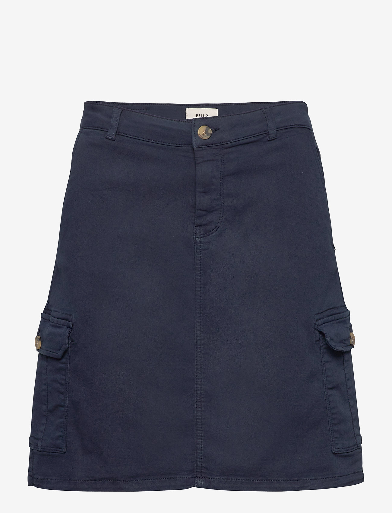 Pulz Jeans - PZKAROLINA Skirt - korte nederdele - dark sapphire - 0