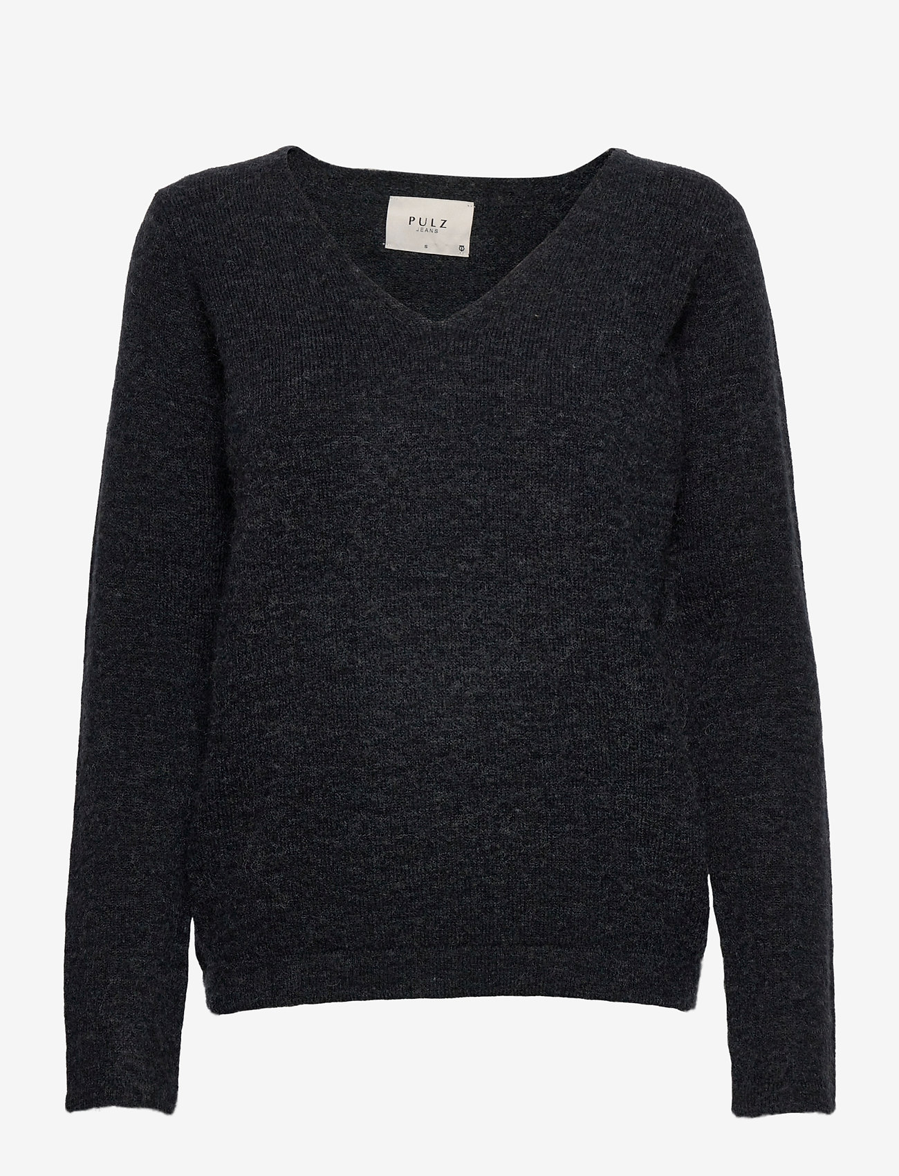 Pulz Jeans - PZASTRID Pullover - trøjer - stretch limo melange - 0