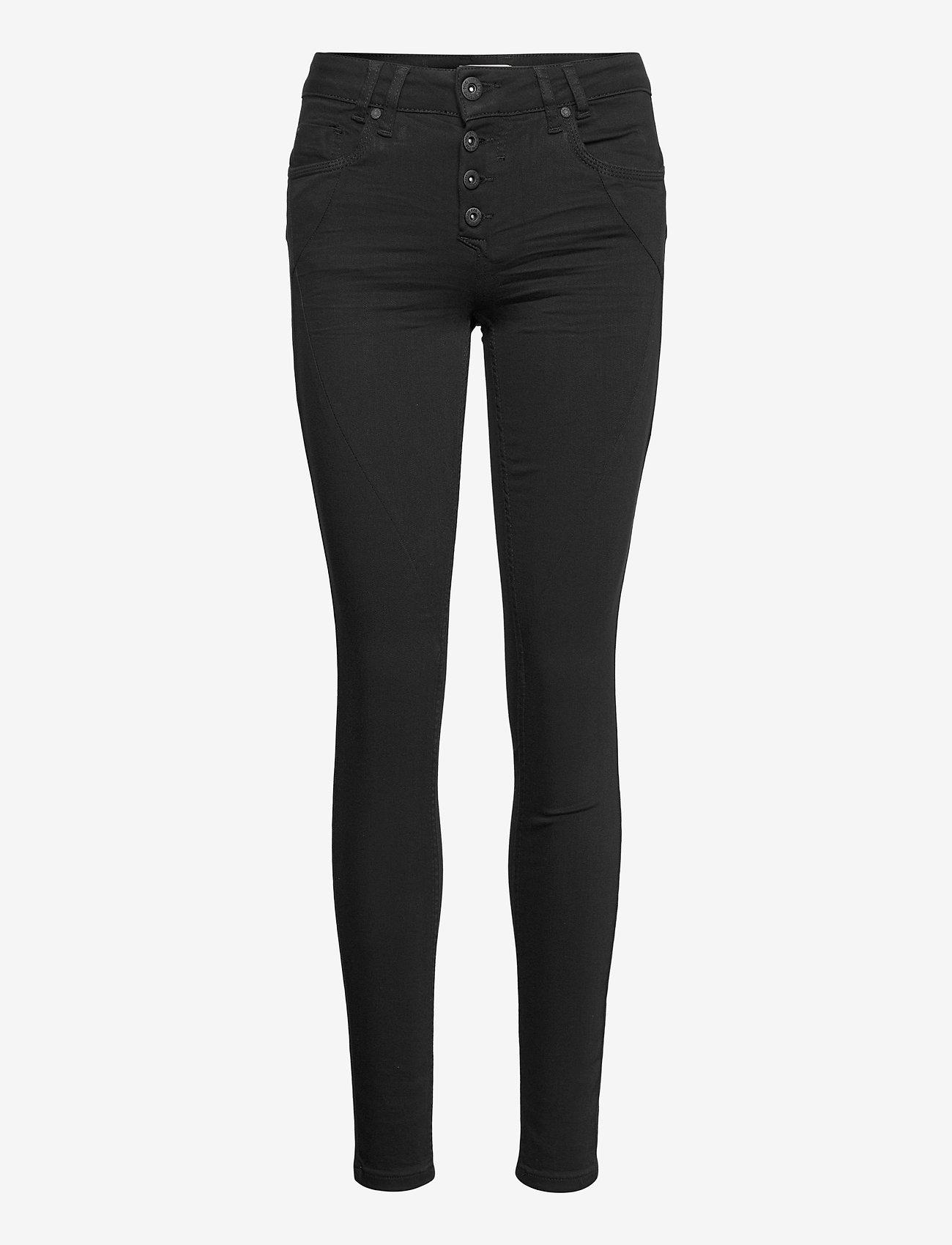 Pulz Jeans - PZANNA Jeans Skinny Leg Stay Black - skinny jeans - black denim - 0