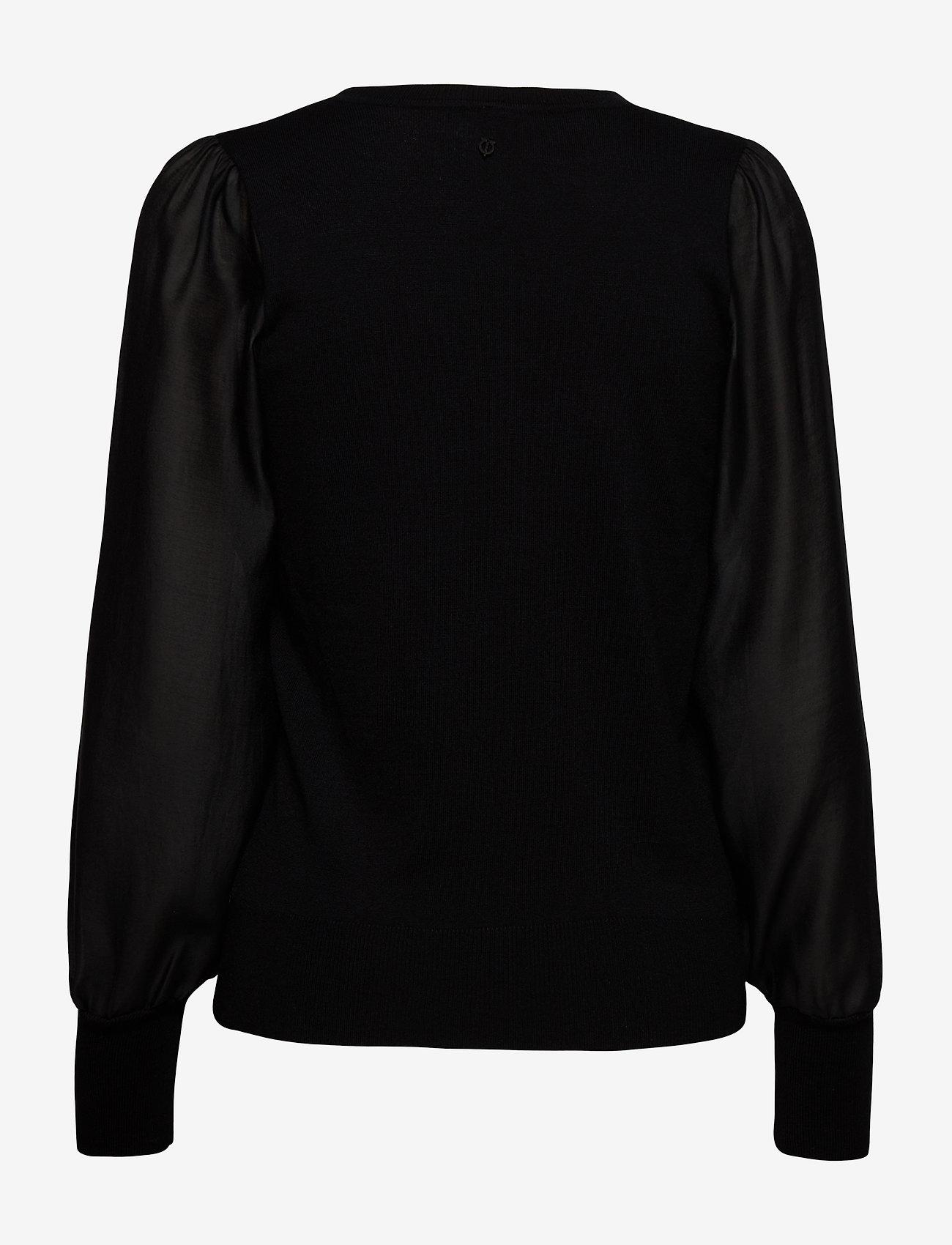 Pulz Jeans - PZSARA Pullover - trøjer - black beauty - 1