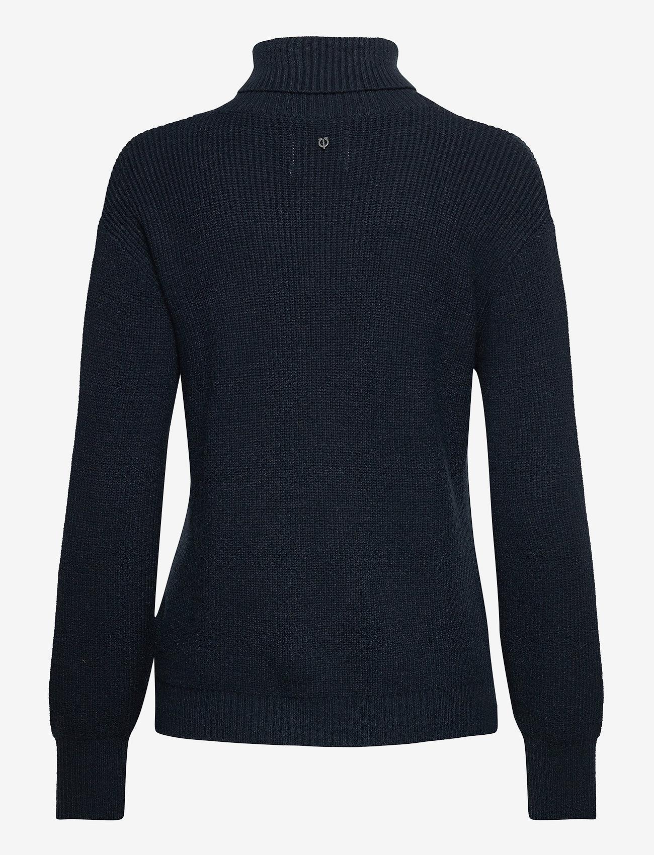 Pulz Jeans - PZRUDY Pullover - turtlenecks - dark sapphire - 1