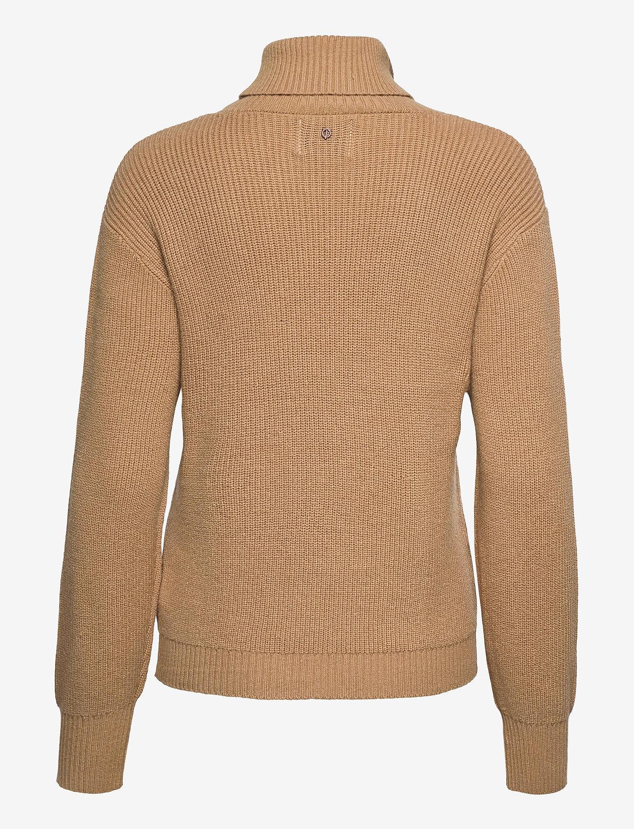 Pulz Jeans - PZRUDY Pullover - turtlenecks - tannin - 1