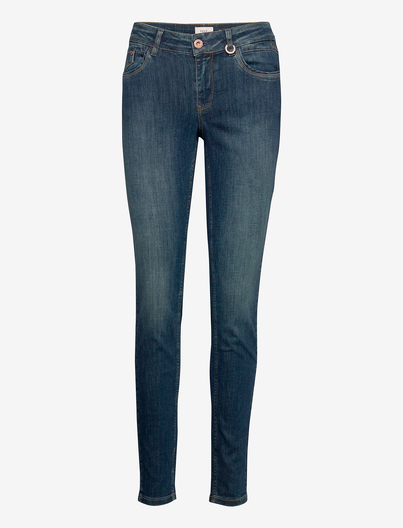 Pulz Jeans - PZANNA Jeans - slim jeans - dark blue denim - 0