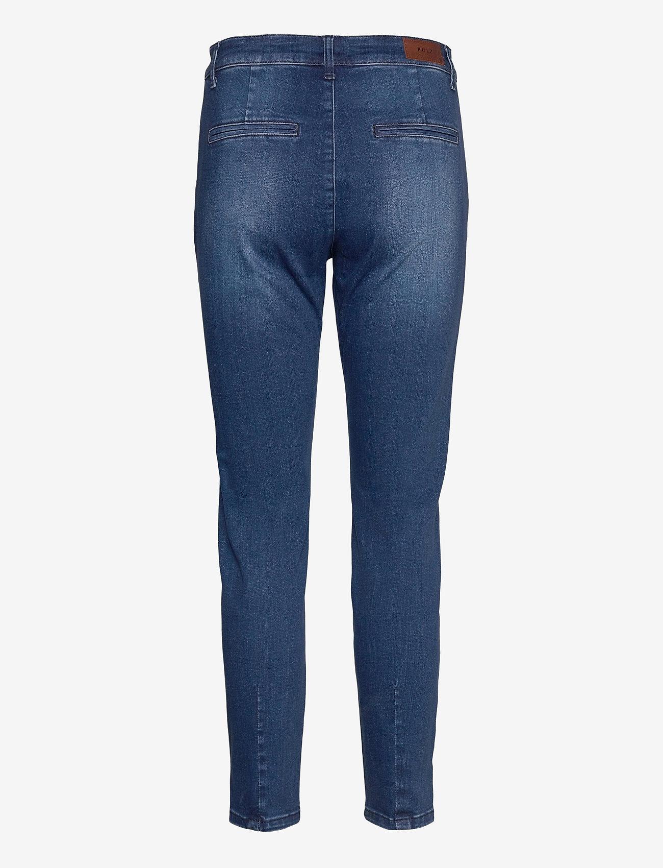 Pulz Jeans - PZCLARA Jeans - slim jeans - dark blue denim - 1