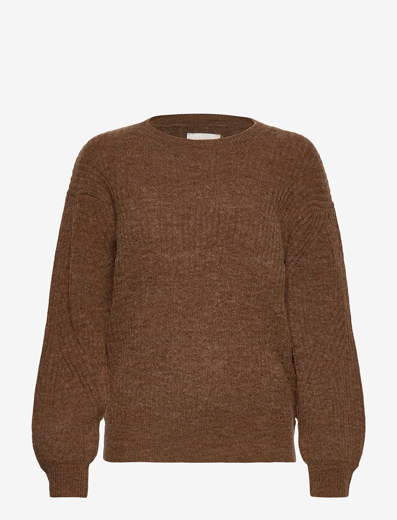 Pulz Jeans - PZASTRID Pullover - trøjer - sugar almond melange - 0