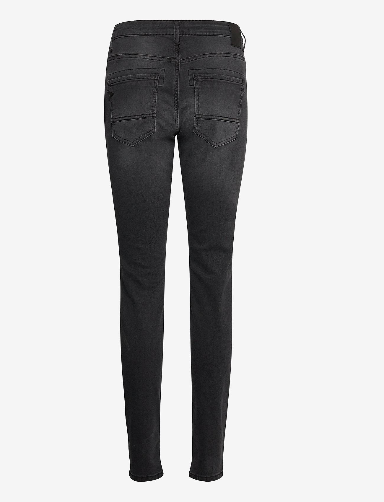 Pulz Jeans - PZMARY Jeans - slim jeans - grey denim - 1