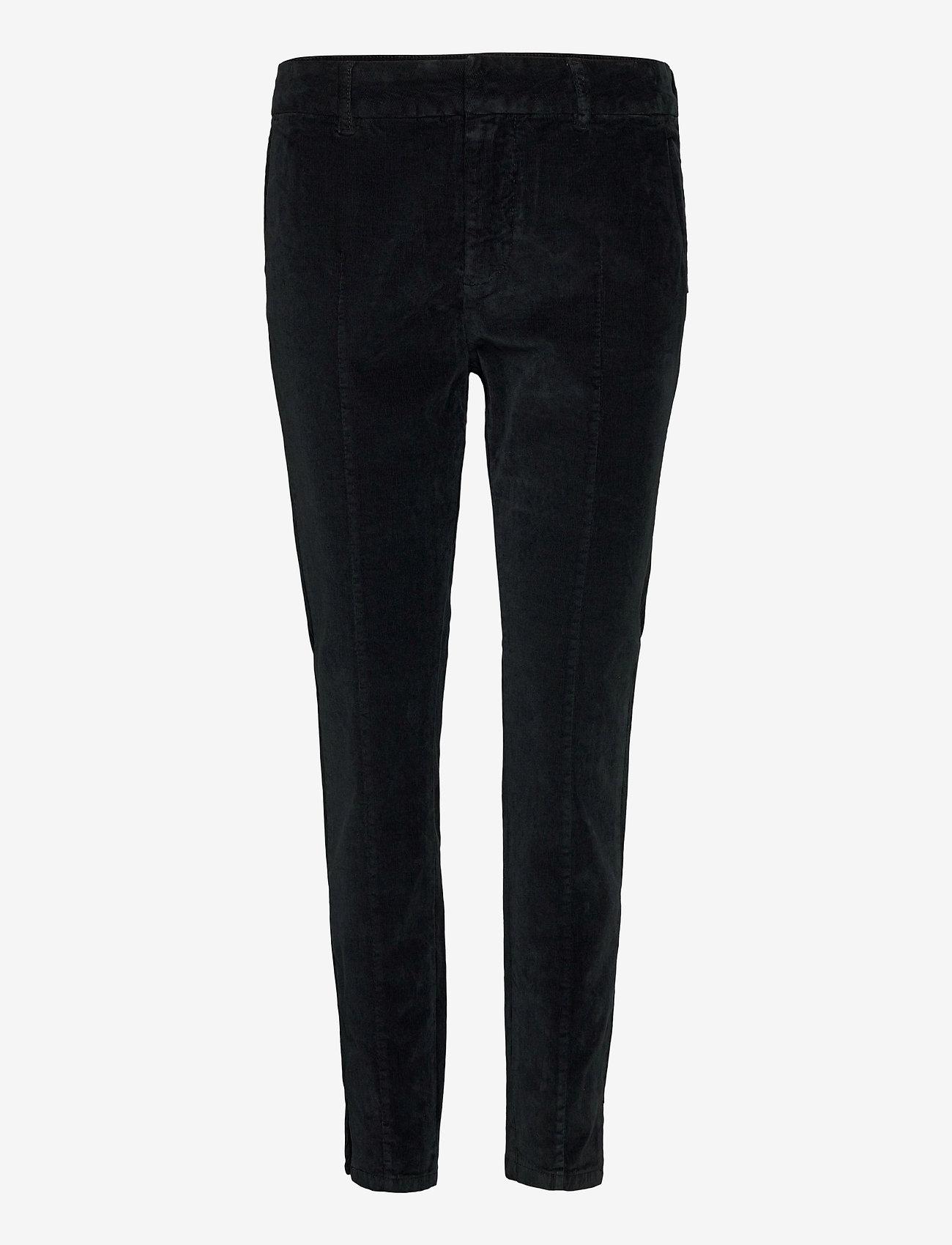 Pulz Jeans - PZCLARA Pant - broeken med skinny fit - stretch limo - 0
