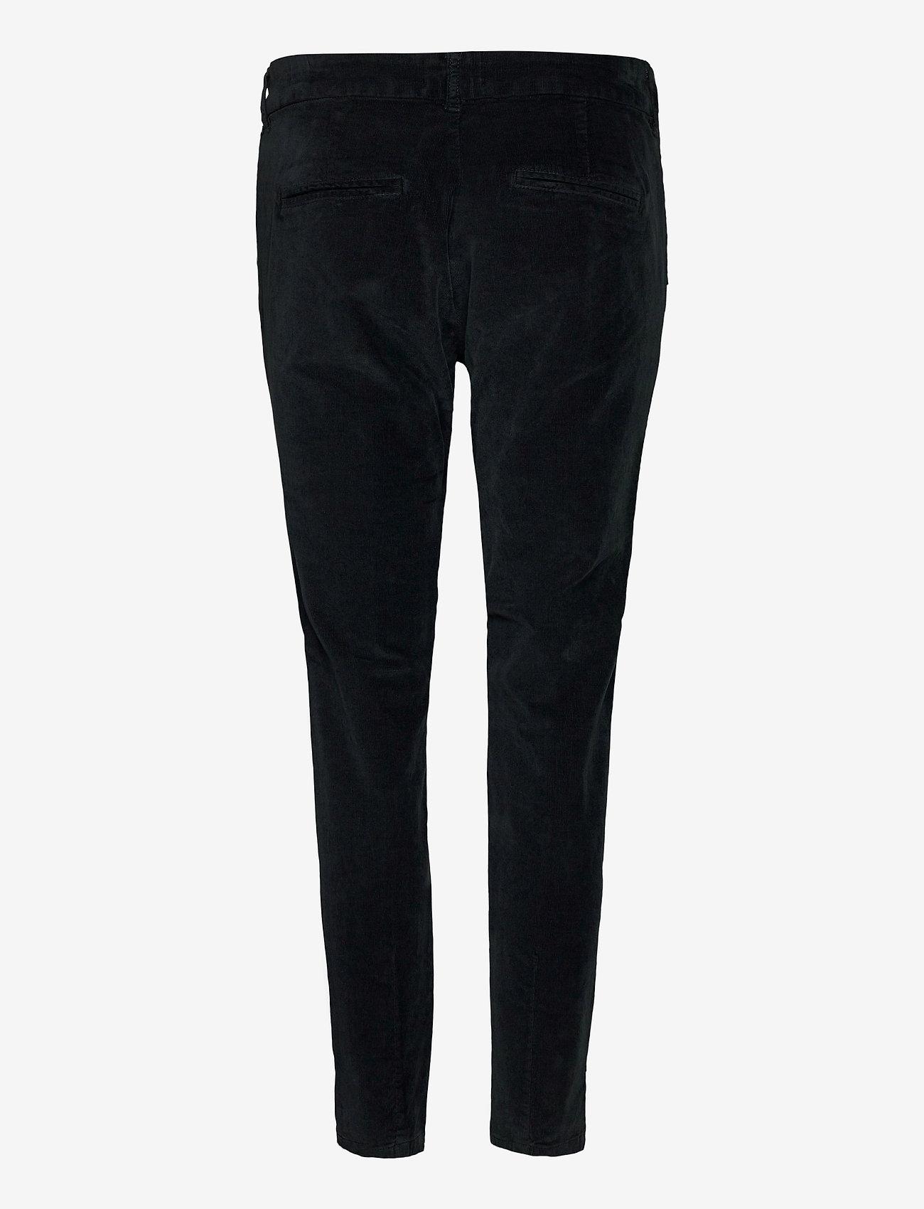 Pulz Jeans - PZCLARA Pant - broeken med skinny fit - stretch limo - 1