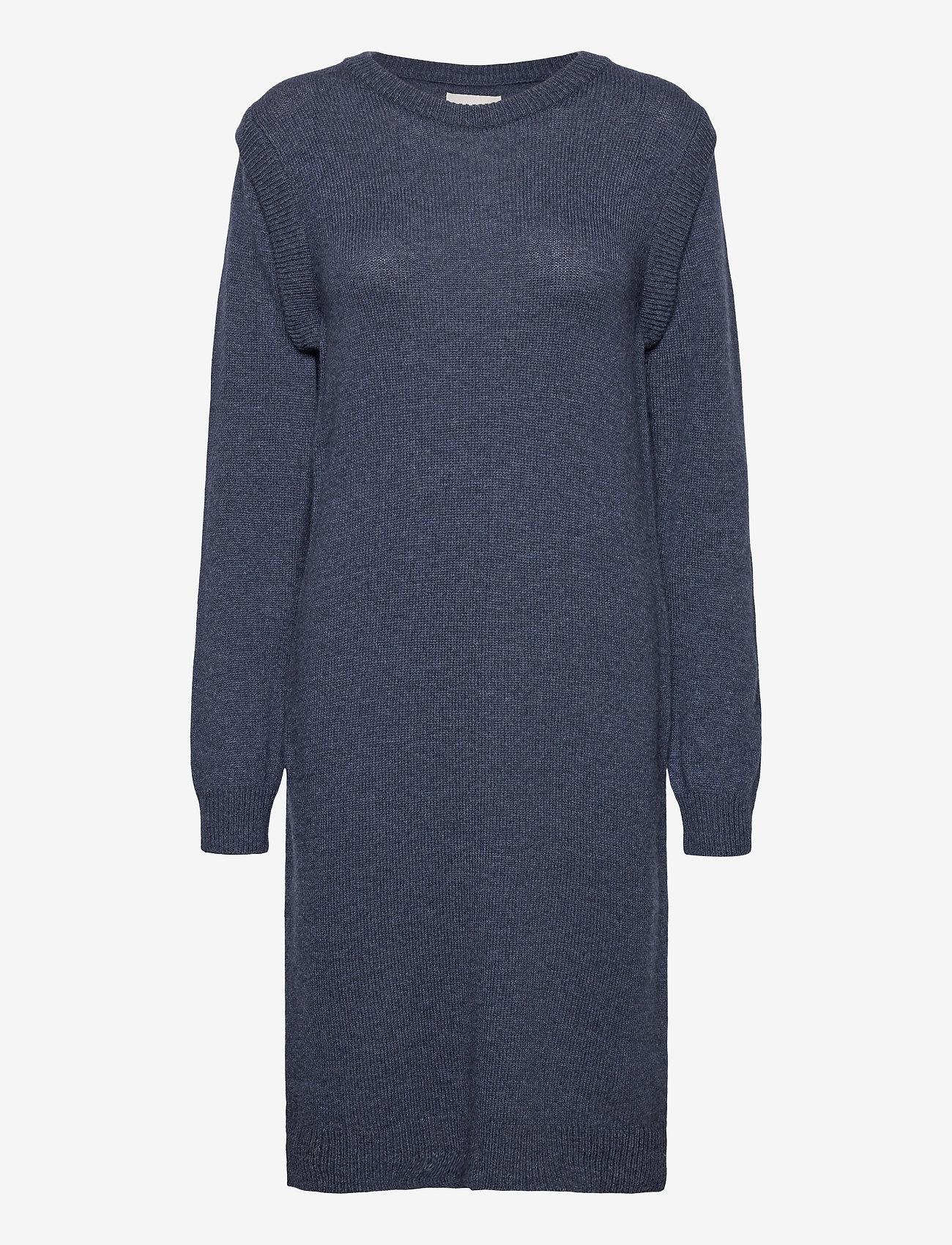 Pulz Jeans - PZLUCY Dress - hverdagskjoler - dark sapphire melange - 0