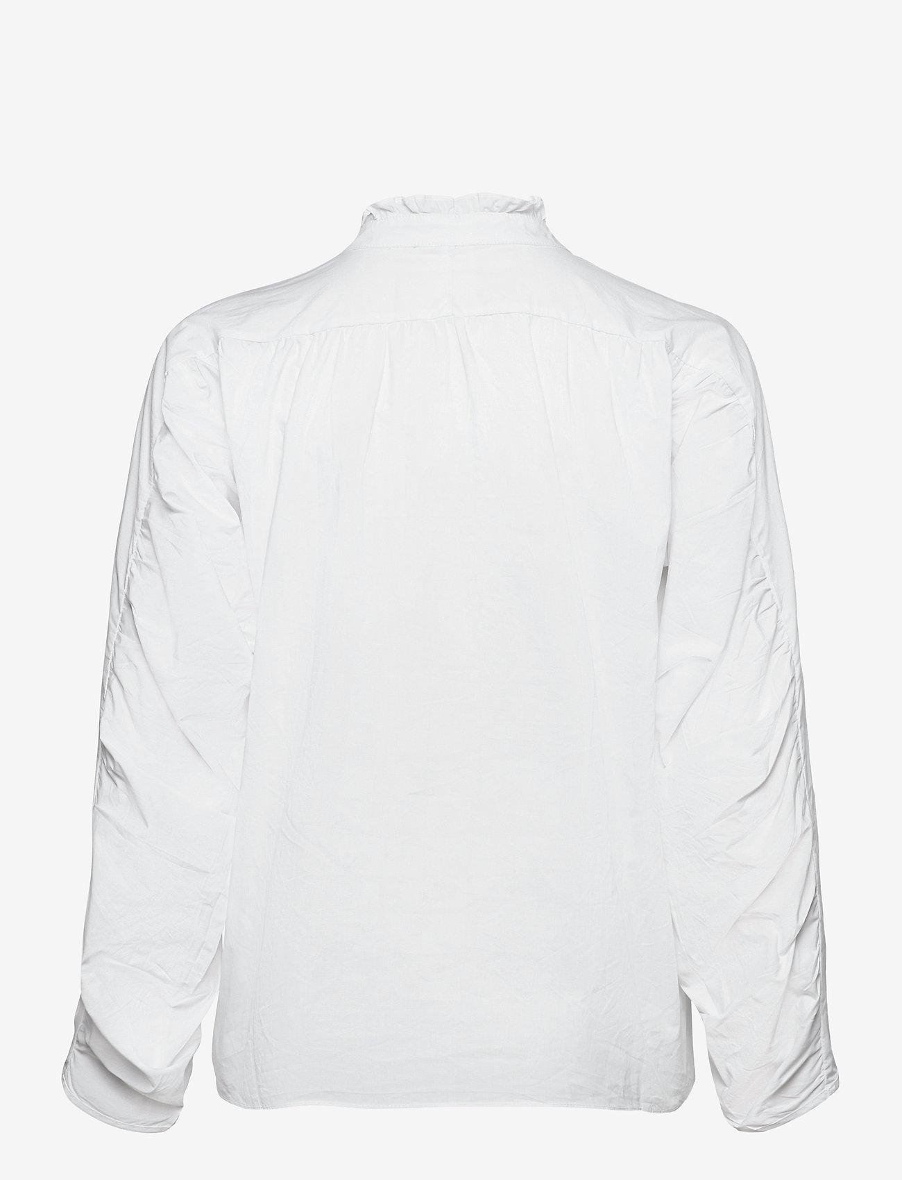 Pulz Jeans - PZWILLO Blouse - langærmede bluser - cloud dancer - 1
