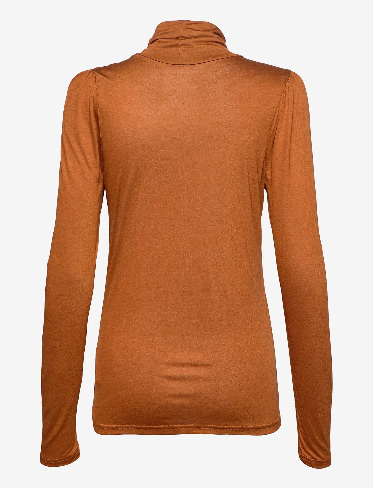 Pulz Jeans - PZCARLA T-shirt - langærmede toppe - sugar almond - 1